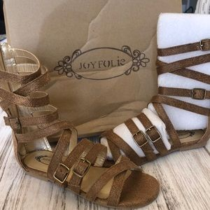 Joyfolie sandal NEW with box